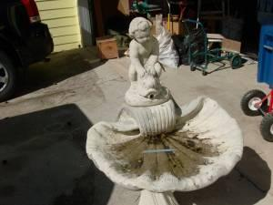 Cement Fountain Bird Bath Auburn Ga For Sale In