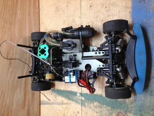 CEN racing ct4-s nitro rc car - ready to race