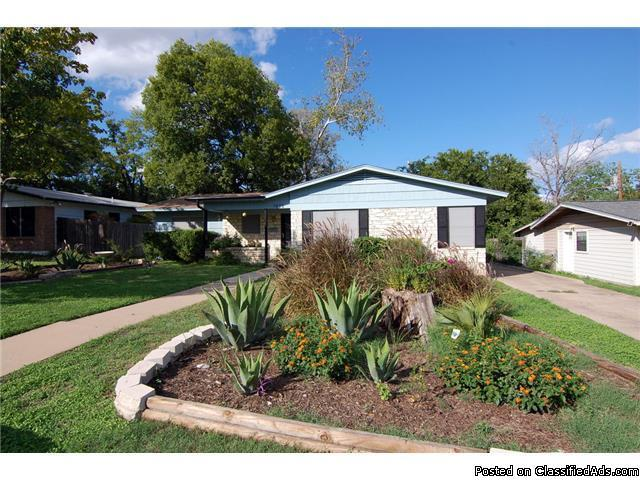 Central austin home for sale mid century modern for sale for Modern houses for sale austin