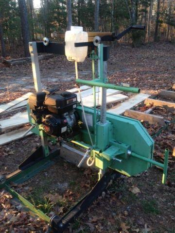 Central Machinery Portable Saw Mill w/ Predator 301cc Gas Engine