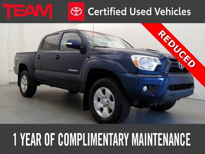 Certified 2014 Toyota Tacoma 4x4 Double Cab Glen Mills,
