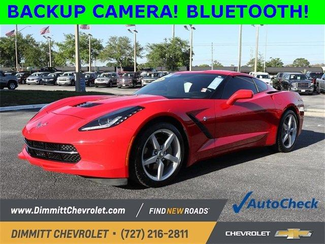 Certified 2015 Chevrolet Corvette Stingray Coupe