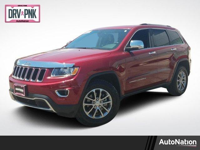 Certified 2015 Jeep Grand Cherokee 4WD Limited