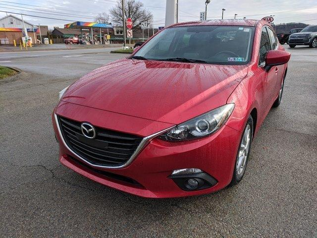 Certified 2015 MAZDA MAZDA3 i Grand Touring Hatchback