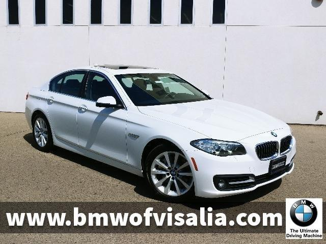 Certified 2016 BMW 535i Sedan Visalia, CA 93291