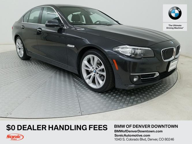 Certified 2016 BMW 535i xDrive Sedan Denver, CO 80246