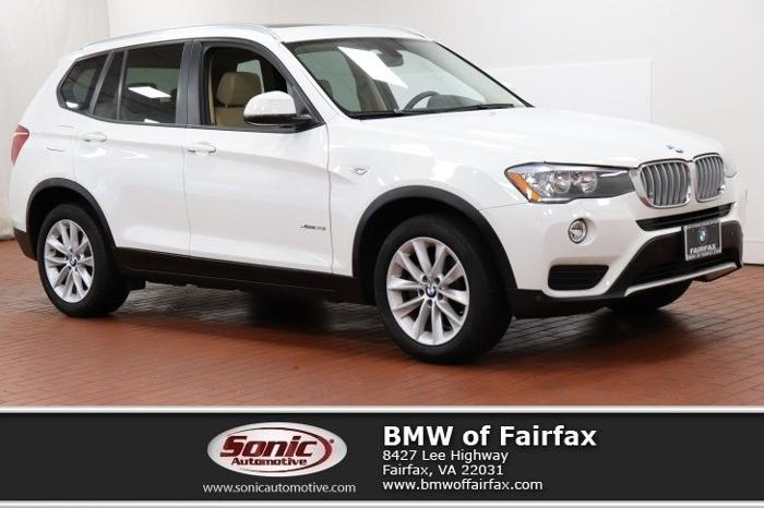 Certified 2016 BMW X3 xDrive28i Fairfax, VA 22031