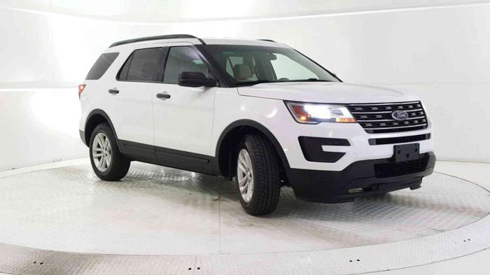 Certified 2016 Ford Explorer 4WD EDGEWOOD, NM 87015