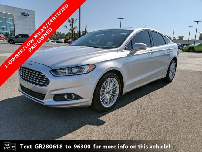 Certified 2016 Ford Fusion SE Hattiesburg, MS 39402