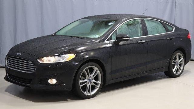 Certified 2016 Ford Fusion Titanium AWD Youngstown, OH