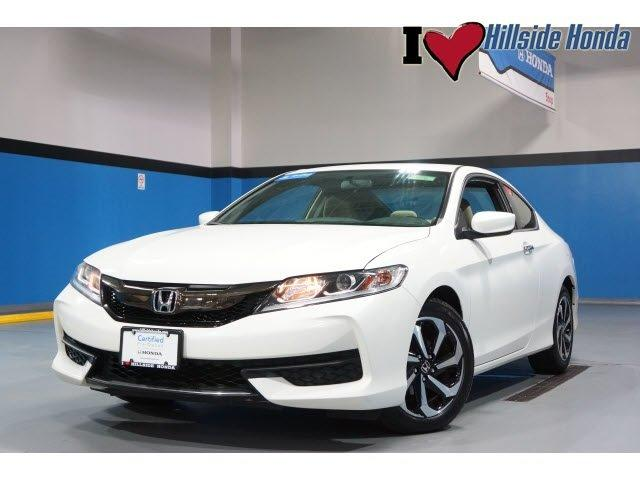 Certified 2016 Honda Accord LX-S Coupe JAMAICA, NY
