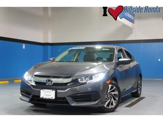 Certified 2016 Honda Civic EX Sedan JAMAICA, NY 11435
