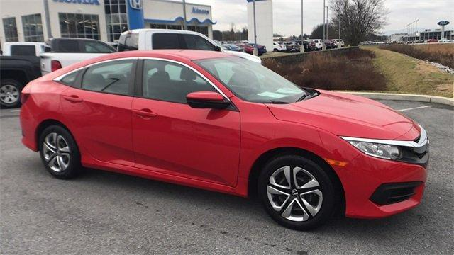 Certified 2016 Honda Civic LX Sedan Altoona, PA 16602