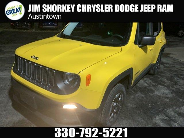 Certified 2016 Jeep Renegade 4WD Sport YOUNGSTOWN, OH