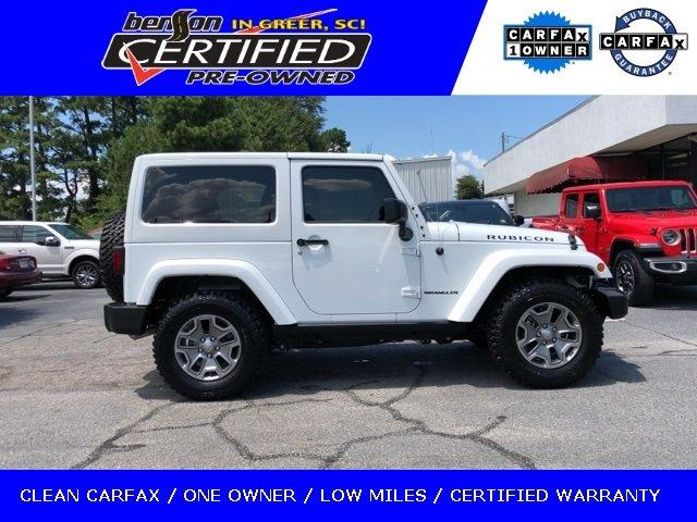 Certified 2016 Jeep Wrangler 4WD Rubicon GREER, SC
