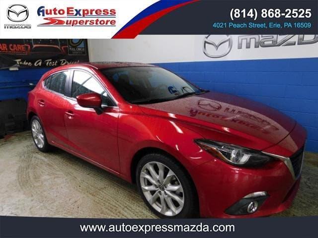 Certified 2016 MAZDA MAZDA3 s Grand Touring Hatchback
