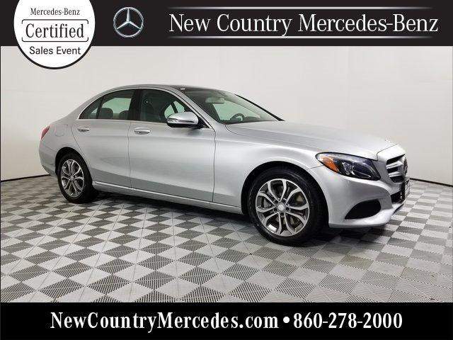 Certified 2016 Mercedes-Benz C 300 4MATIC Sedan