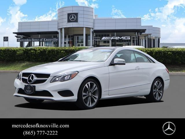 Certified 2016 Mercedes-Benz E 400 4MATIC Coupe