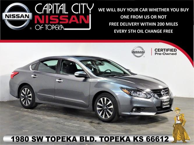 Certified 2016 Nissan Altima 2.5 SL Sedan Topeka, KS