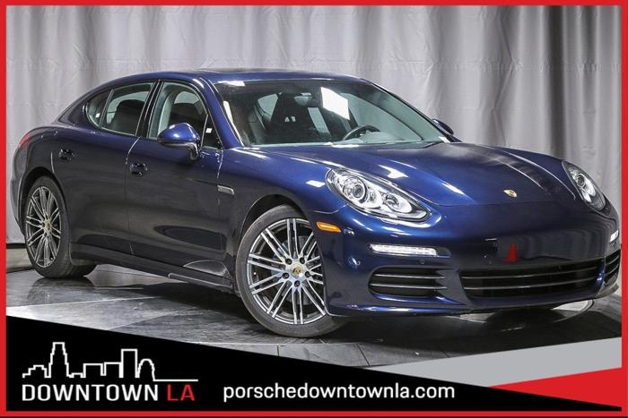Certified 2016 Porsche Panamera Edition LOS ANGELES, CA