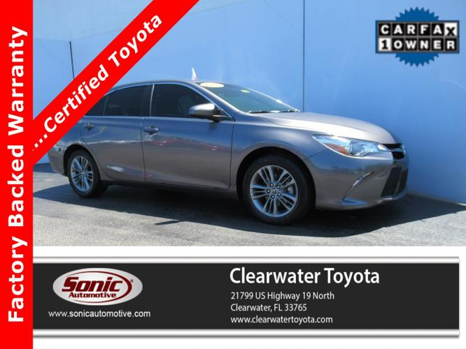 Certified 2016 Toyota Camry SE Clearwater, FL 33765