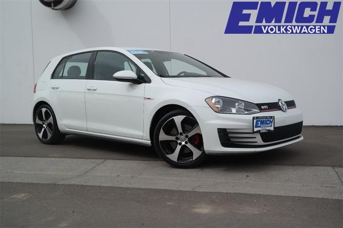 Certified 2016 Volkswagen GTI S DENVER, CO 80223