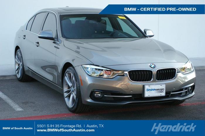 Certified 2017 BMW 330i Sedan AUSTIN, TX 78744