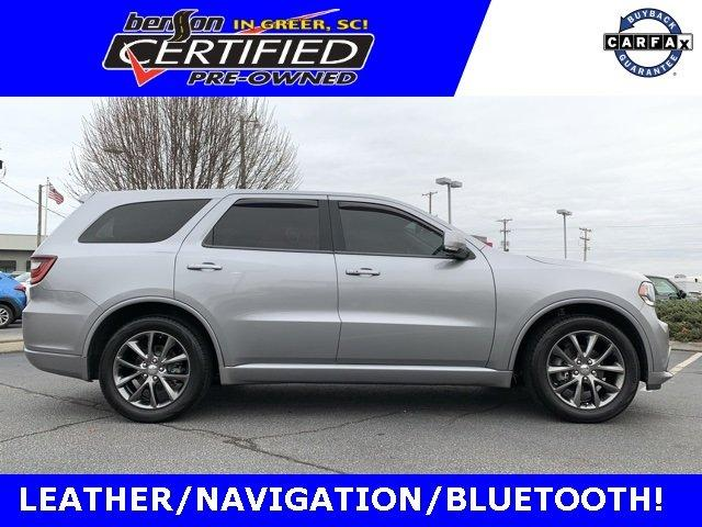 Certified 2017 Dodge Durango 2WD GT GREER, SC 29652