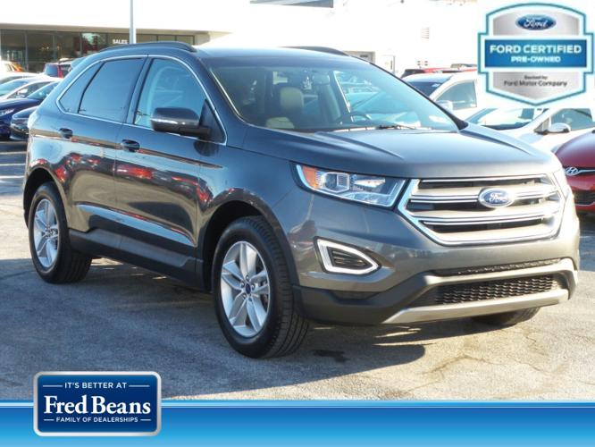 Certified 2017 Ford Edge AWD SEL MECHANICSBURG, PA