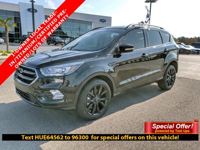 Certified 2017 Ford Escape 4WD Titanium Hattiesburg, MS