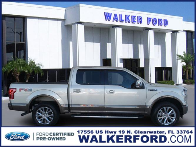 Certified 2017 Ford F150 Lariat CLEARWATER, FL 33764