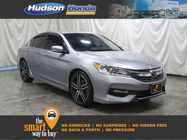 Certified 2017 Honda Accord Sport Sedan West New York,