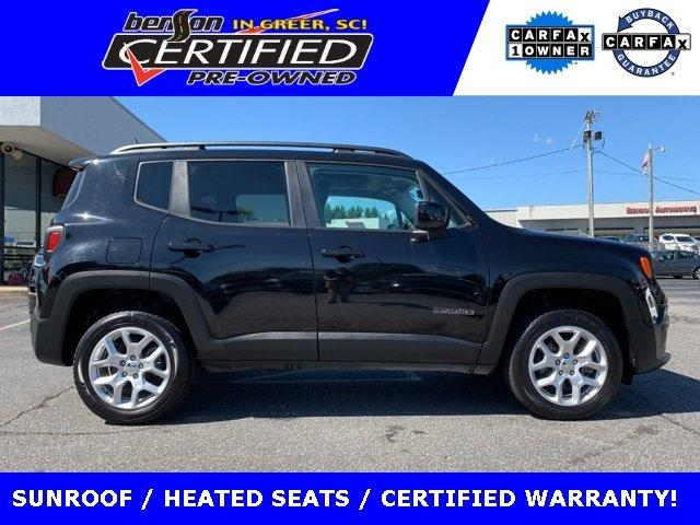 Certified 2017 Jeep Renegade 4WD Latitude GREER, SC