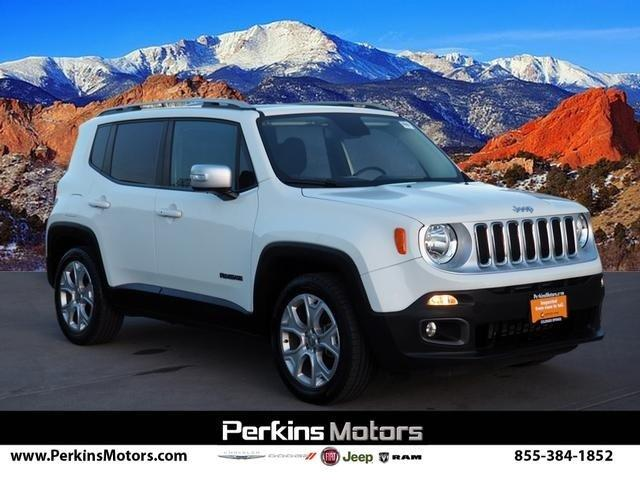 Certified 2017 Jeep Renegade FWD Limited Colorado