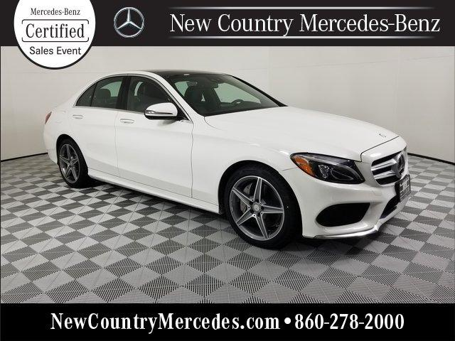 Certified 2017 Mercedes-Benz C 300 4MATIC Sedan
