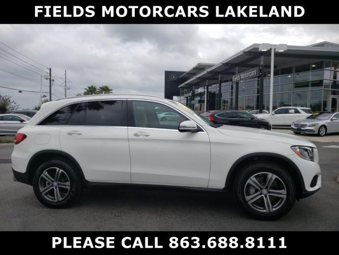 Certified 2017 Mercedes-Benz GLC 300 LAKELAND, FL 33805