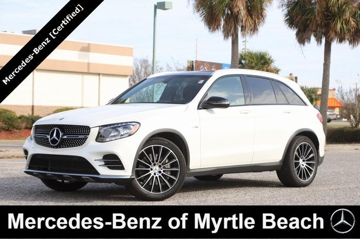 Certified 2017 Mercedes-Benz GLC 43 AMG 4MATIC MYRTLE ...