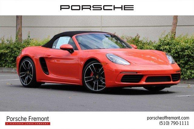 Certified 2017 Porsche 718 Boxster S Fremont, CA 94538