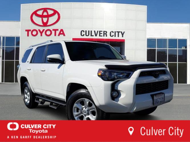 certified 2017 toyota 4runner sr5 premium culver city, ca 90232 for sale in culver city, california classified americanlisted.com
