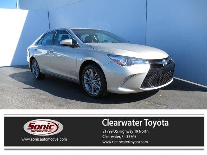Certified 2017 Toyota Camry SE Clearwater, FL 33765