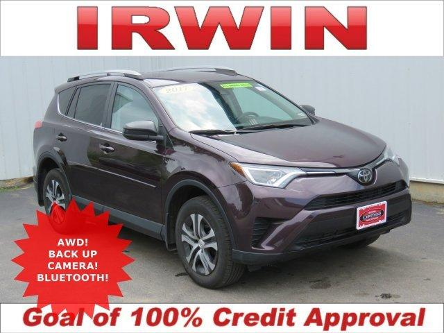 Certified 2017 Toyota RAV4 AWD LE Laconia, NH 03246
