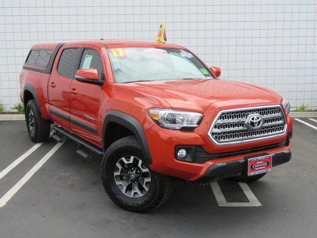 Certified 2017 Toyota Tacoma Double Cab TRD Off-Road
