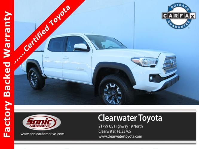Certified 2017 Toyota Tacoma TRD Off-Road Clearwater,