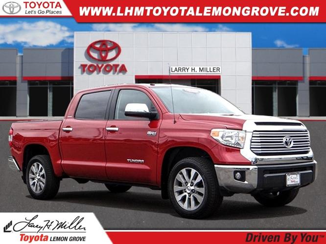 Certified 2017 Toyota Tundra Limited LEMON GROVE, CA