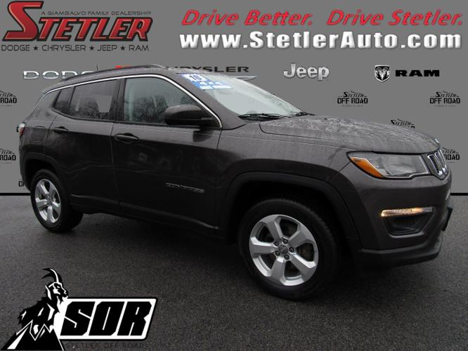 Certified 2018 Jeep Compass 4WD Latitude York, PA 17404