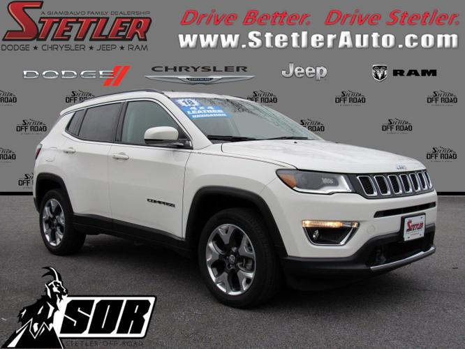 Certified 2018 Jeep Compass 4WD Limited York, PA 17404