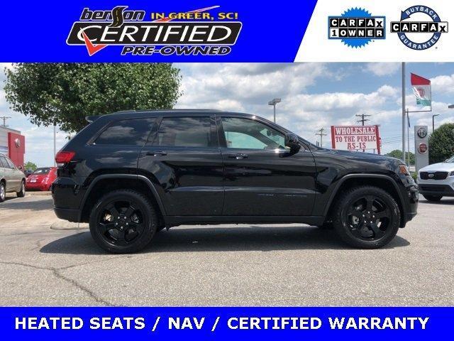 Certified 2018 Jeep Grand Cherokee 4WD Laredo GREER, SC