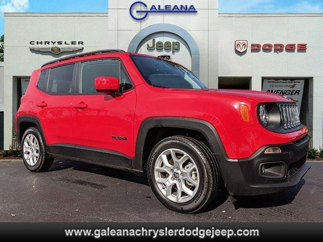 Certified 2018 Jeep Renegade FWD Latitude Fort Myers,