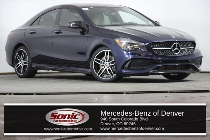 Certified 2018 Mercedes-Benz CLA 250 4MATIC Denver, CO