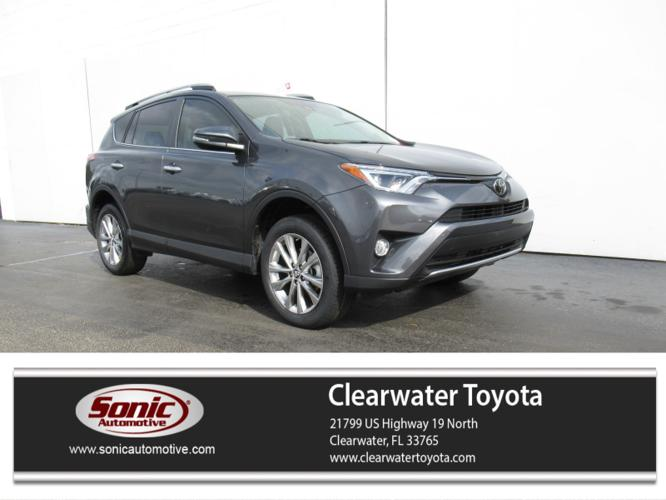 Certified 2018 Toyota RAV4 Limited Clearwater, FL 33765